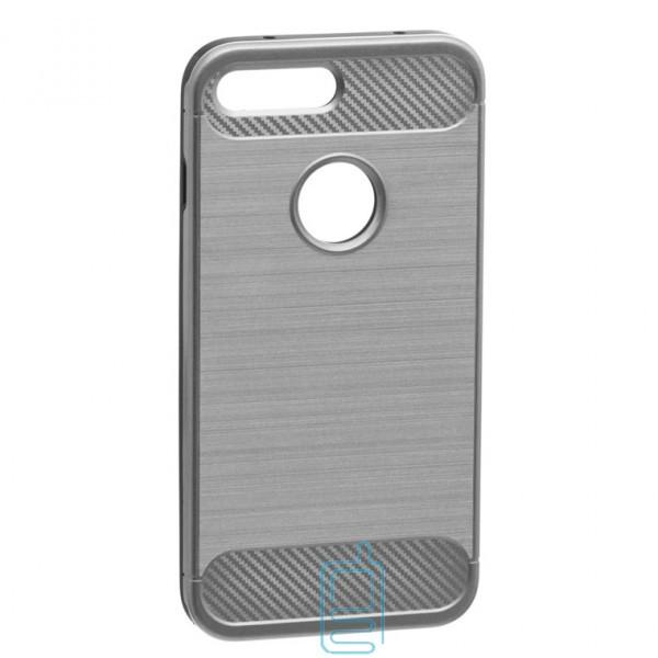 Чехол-накладка Motomo X6 Apple iPhone 7 Plus, 8 Plus светло-серый