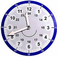 Обучающие часы с минутам