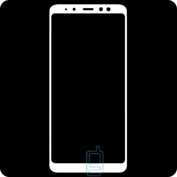 Защитное стекло Full Screen Samsung A8 2018 A530 white тех.пакет