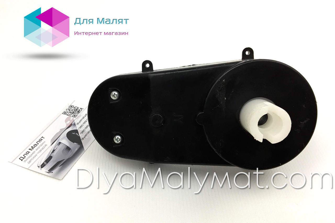 Рулевой редуктор 12V RS380 RPM 4800 для детского электромобиля с прорезями