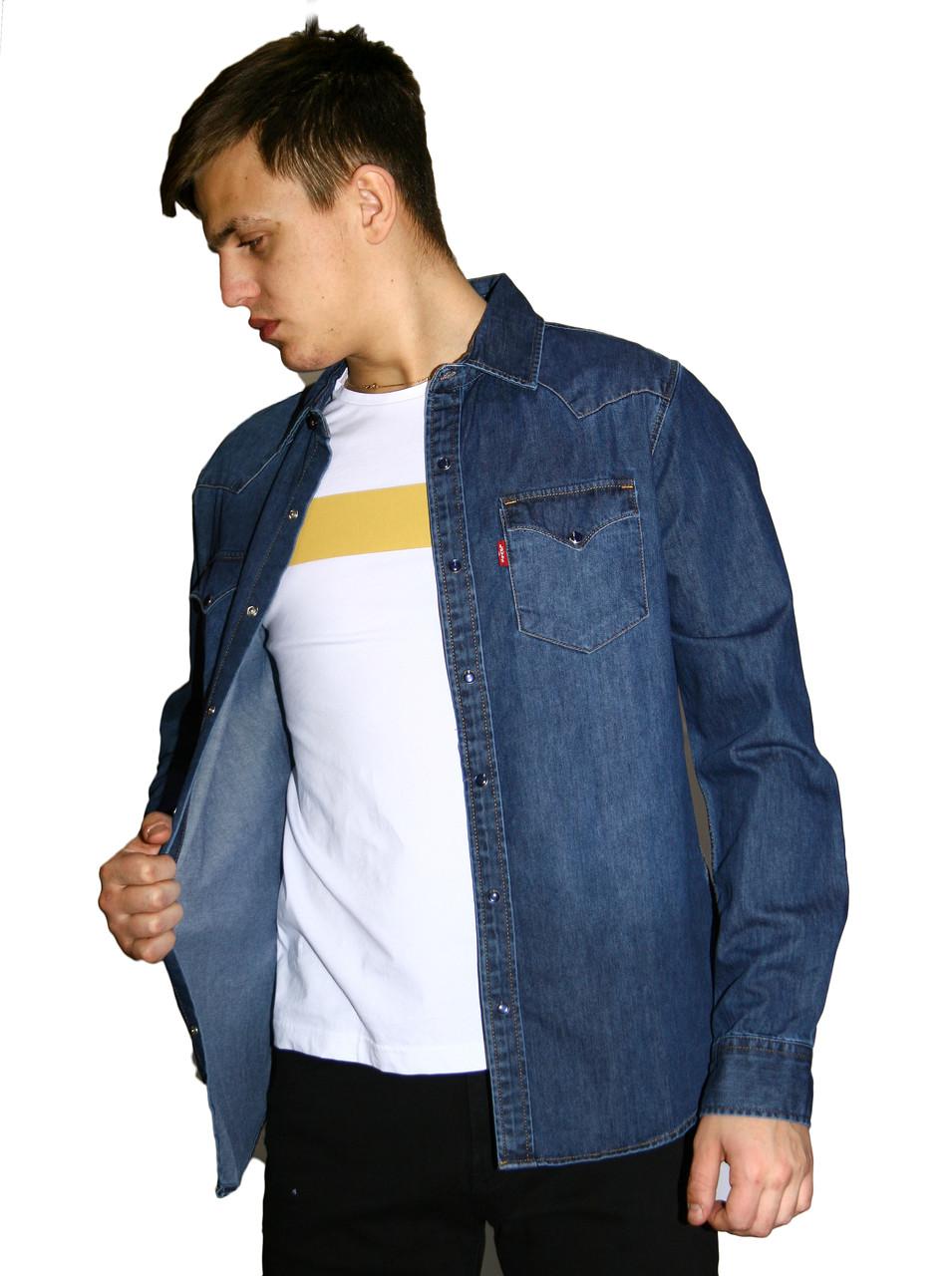 Мужская джинсовая рубашка LEVIS 1997 TEXAS 03