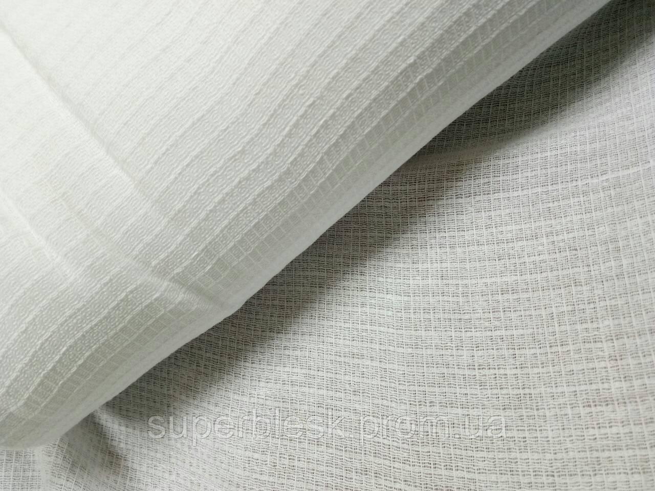Ткань полотенечная вафельная отбеленная