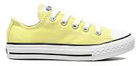 "Кеды Converse Chuck Taylor All Star Low ""Light Yellow""  (Копия ААА+)"