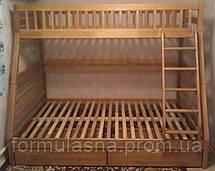 Кровать двухъярусная Юлия с подкроватными ящиками, фото 3