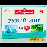 Рыбий жир с ламинарией Мирролла 100 капс. (4650001791108)