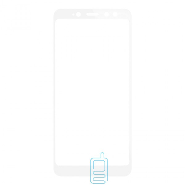 Защитное стекло Full Screen Xiaomi Redmi S2, Y2 white тех.пакет