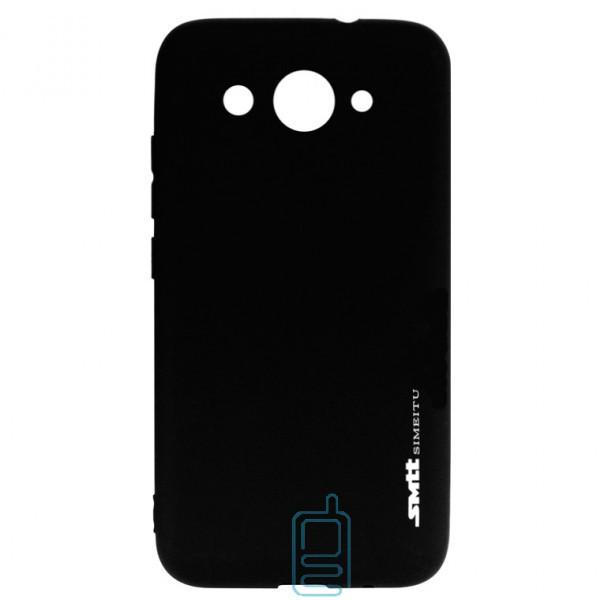 Чехол силиконовый SMTT Huawei Y3 2017, Y3 2018 черный