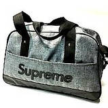 Дорожные спортивные сумки Supreme (красный)29Х46см, фото 8