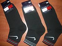 """Мужские носки """"в стиле"""" Tommy Hilfiger. р. 41-45. Черный., фото 1"""