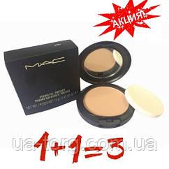 Пудра MAC Studio Fix Powder +Foundation (2 пудры+1 пудра в подарок)