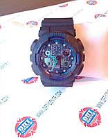 Наручные часы Casio G-Shock (черно-синие) ОПТ