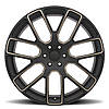 BLACK RHINO Kunene MATTE BLACK W/ DARK TINT MILLED SPOKES, фото 2