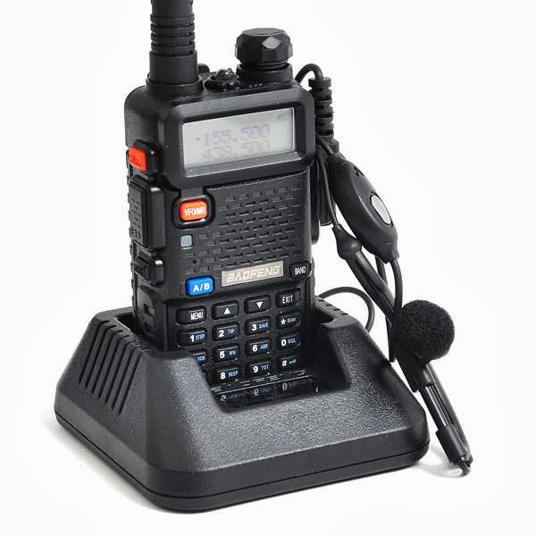 Радіостанція (рація) Baofeng UV-5R двоканальна / Радиостанция (рация) Баофенг UV-5R двухканальная