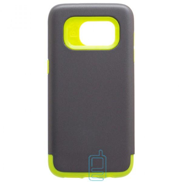 Чехол-накладка Motomo X1 Samsung S7 Edge G935 серо-зеленый