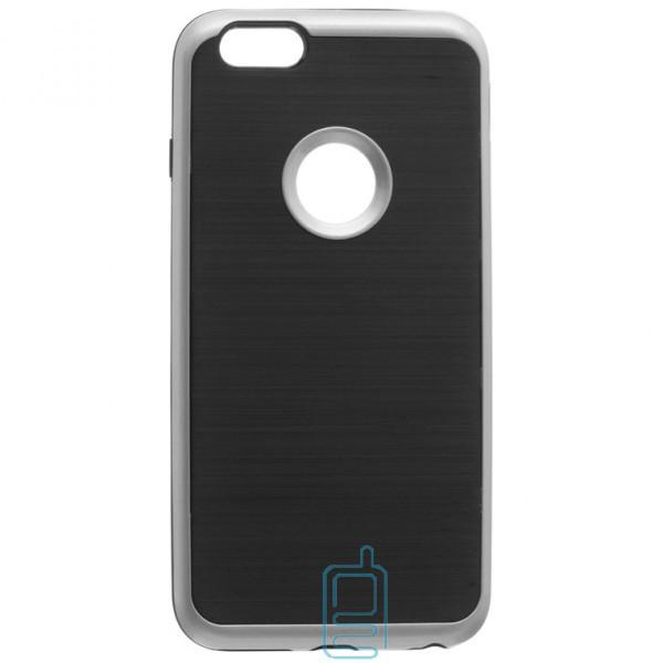 Чехол-накладка Motomo X3 Apple iPhone 6 Plus, 6S Plus серебристый