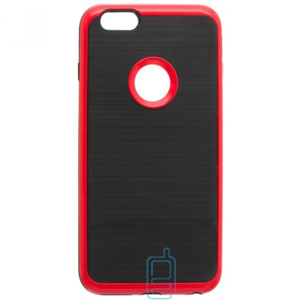 Чехол-накладка Motomo X3 Apple iPhone 6 Plus, 6S Plus красный
