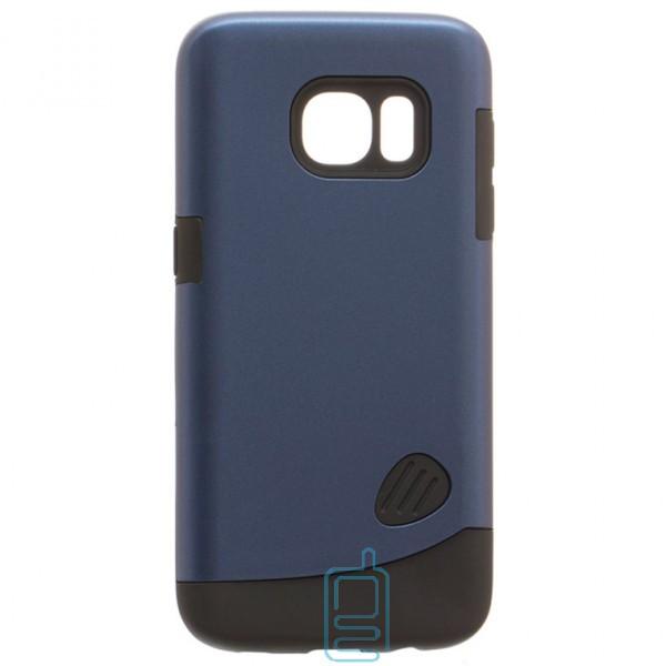 Чехол-накладка Motomo X4 Samsung S7 G930 синий