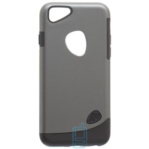 Чехол-накладка Motomo X4 Apple iPhone 6, 6S серый