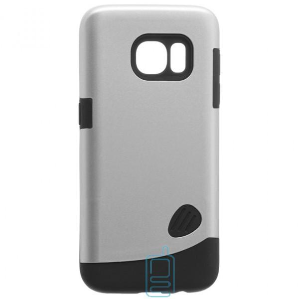 Чехол-накладка Motomo X4 Samsung S7 G930 серебристый