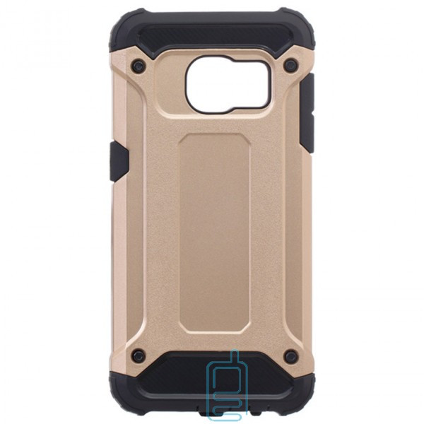 Чехол-накладка Motomo X5 Samsung S7 G930 золотистый