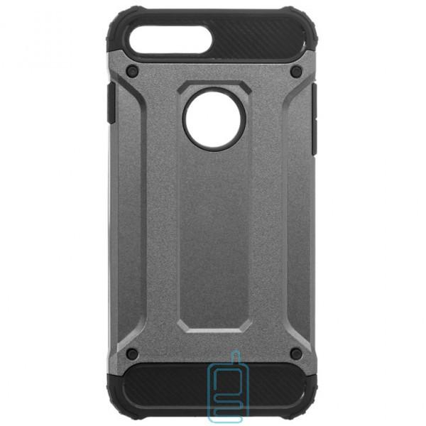 Чехол-накладка Motomo X5 Apple iPhone 7 Plus, 8 Plus серый