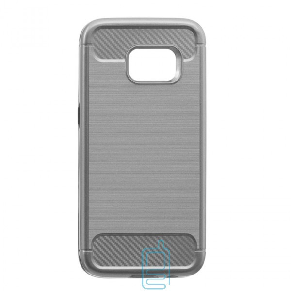 Чехол-накладка Motomo X6 Samsung S7 G930 светло-серый