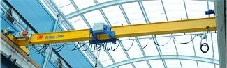 Европейский Кран мостовой - г/п 20т, электрический, однобалочный опорный.