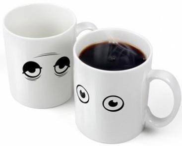 Горнятко хамелеон Прокидайся! / Кружка чашка Просыпайся!