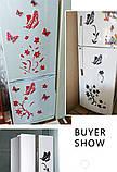 Декоративная интерьерная виниловая наклейка на стену, холодильник, зеркало   (078348345), фото 2