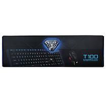 AULA T100 USB-кабель с подсветкой Клавиатура и 2400DPI Регулируемый Мышь Combo -1TopShop, фото 3