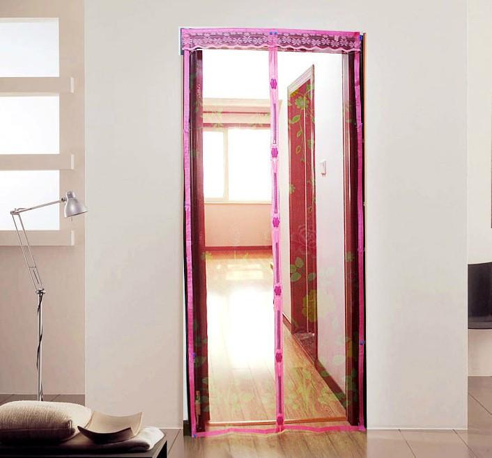 Антимоскітна сітка-штора на магнітах Magic Mesh, 210х90 см / Антимоскитная сетка-штора Мэджик Меш