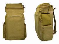 Брезентовый рюкзак Salomè  Sabinо Камуфляжной расцветки Отличный вместительный походный аксессуар  Код: КГ6563