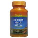 Ниацин медленного высвобождения с Инозитолом, 500 мг,Thompson,  30 вегетарианских капсул