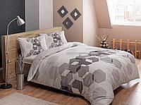 Детское постельное белье Tac Teen Ranforce Arrow gri v01 серый 160*220 полуторное подростковое
