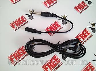 Угловой шнур Audio head jack для некоторых видов роторных машинок