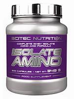 Аминокислоты Scitec Nutrition Isolate Amino, 500 caps