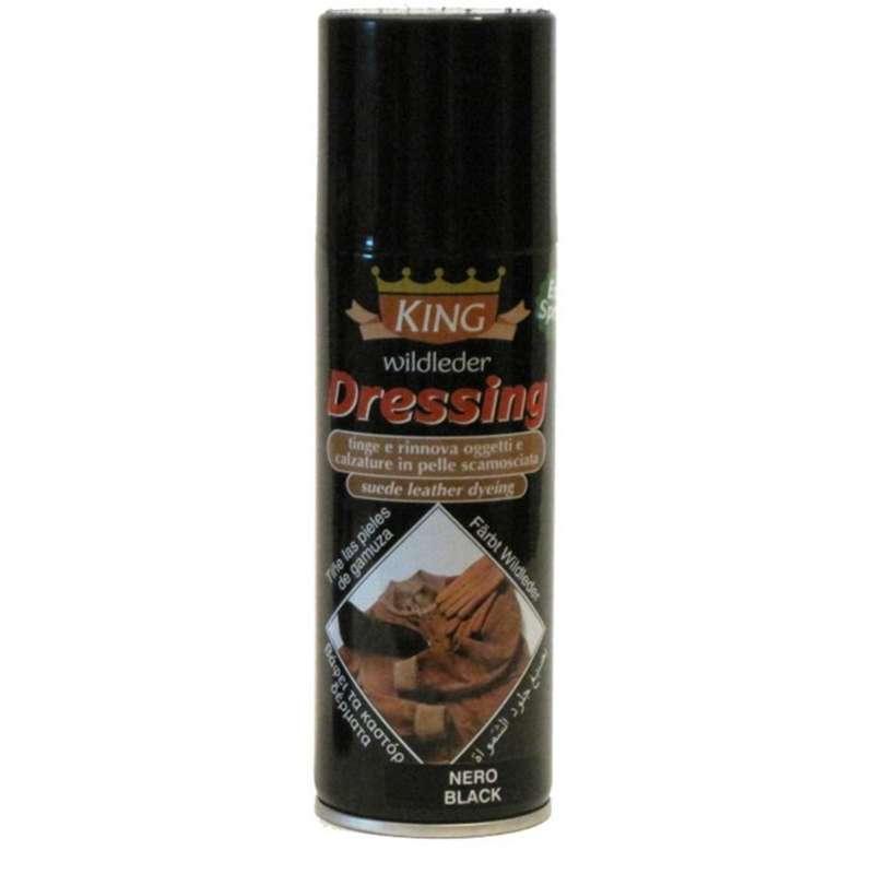 ✅ Краска для замши и нубука пшеничного цвета Wilbra King Dressing Spray, 200 мл
