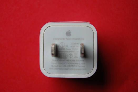Сетевое зарядное устройство для Apple iPhone (Американская вилка) 1000mAh
