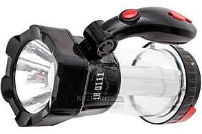 Фонарь аккумуляторный Intertool - 12 LED x 1 Вт