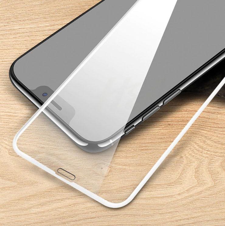 "Full Glue захисне скло для iPhone X / XS 5.8"" - White"