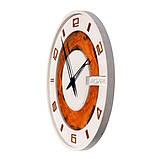 БЕТОННЫЕ ЧАСЫ LORI white/rust, 64 см, Agara, фото 4