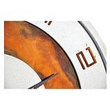 БЕТОННЫЕ ЧАСЫ LORI white/rust, 64 см, Agara, фото 6