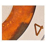 БЕТОННЫЕ ЧАСЫ LORI white/rust, 64 см, Agara, фото 2