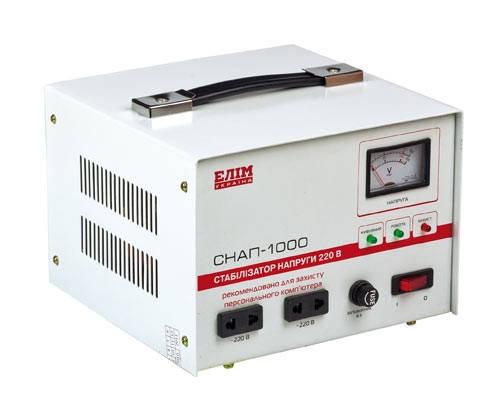 Стабилизатор напряжения СНАП-1000, однофазный, фото 2