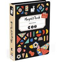 Развивающая игрушка Janod Магнитная книга Формы (J02720)