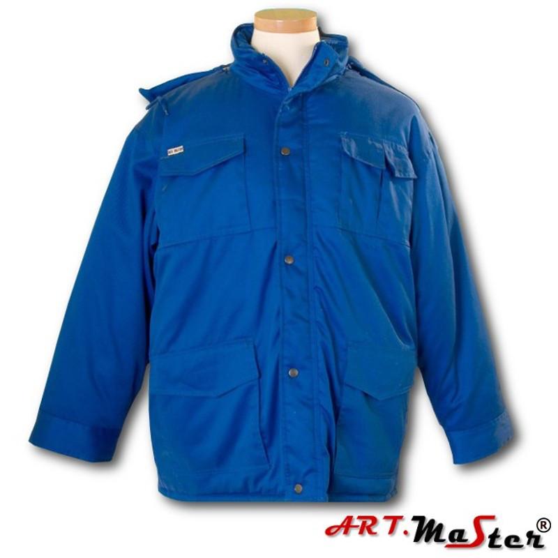 Куртка рабочая зимняя ARTMAS синего цвета ART.MAST BLUZA  niebieski
