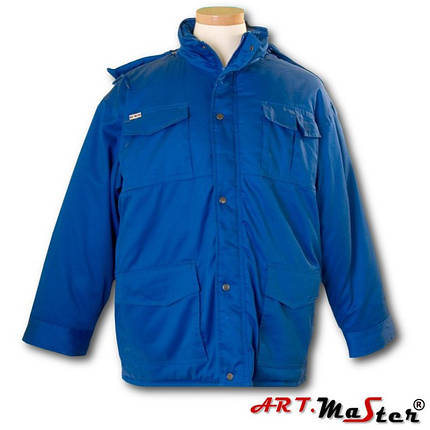 Куртка рабочая зимняя ARTMAS синего цвета ART.MAST BLUZA  niebieski, фото 2