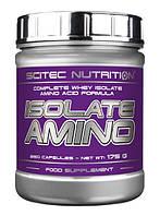 Аминокислоты Scitec Nutrition Isolate Amino, 250 caps