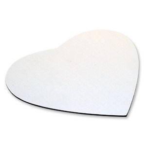 Килимок під комп'ютерну мишку серце для сублімації