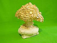 Статуэтка  из гипса «Денежное дерево» (листва в позолоте)